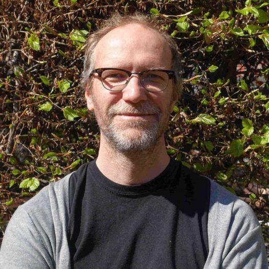 John Vinge (2), 1. amanuensis i musikkpedagogikk ved Norges musikkhøgskole. Mai 2016.