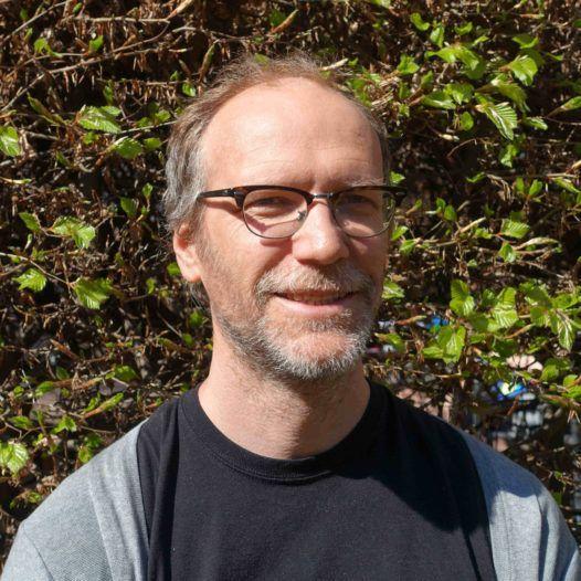 John Vinge (3), 1. amanuensis i musikkpedagogikk ved Norges musikkhøgskole. Mai 2016.