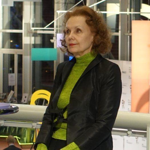 Kaija Saariaho, i forbindelse med urpremieren på operaen Only the sound remains på Nasjonaloperaen i Amsterdam, 15. mars 2016