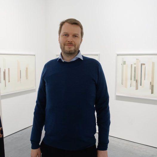 Billedkunstneren Espen Dietrichson, i forb. med utstilling i Galleri Haaken, oktober 2015