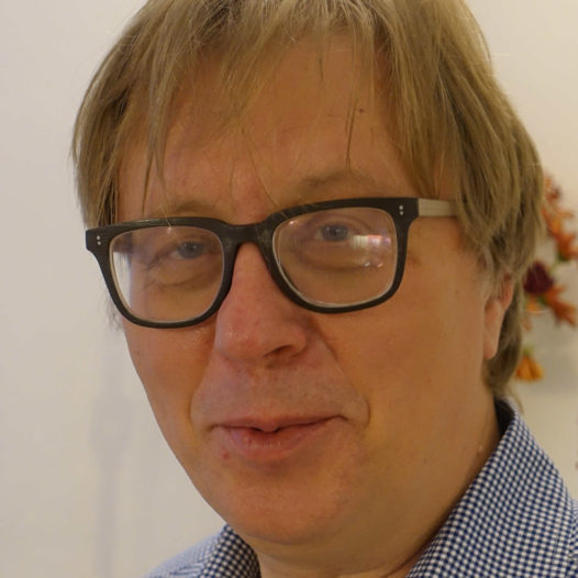 Komponisten Georg Friedrich Haas. London høsten 2015