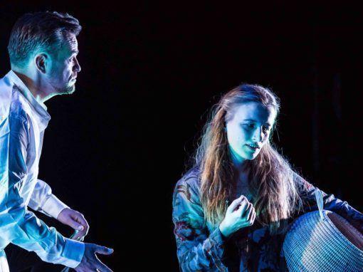 Teit Kanstrup og Nana Bugge Rasmussen som Orfeus og Eurydike