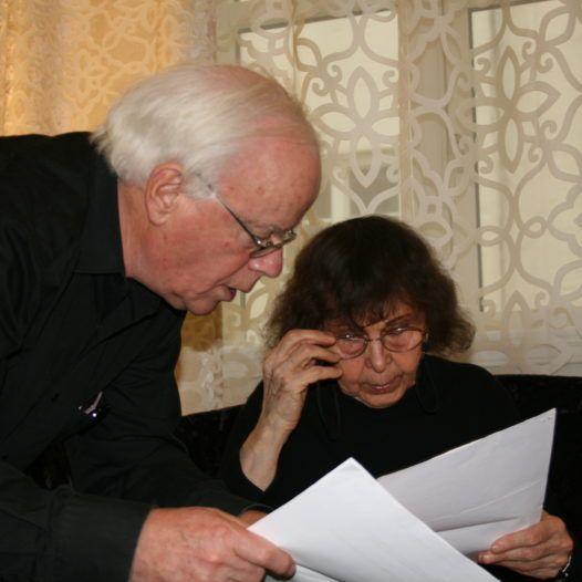 Kjell Wernøe og Sofia Gubaidulina, Oslo 2013