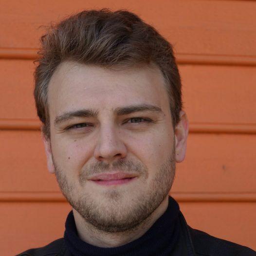Regissør og forfatter Aleksi Barrière. Festspillene i Bergen 2017