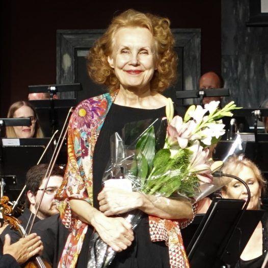 Komponisten Kaija Saariaho feiret av Oslo-Filharmonien 31. mai 2018