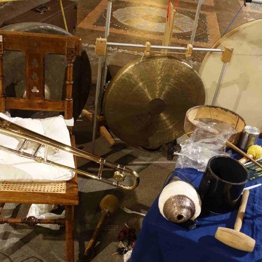 Intrumenter trombonisten Heinz-Erich Gödecke brukte i improvisasjonene.