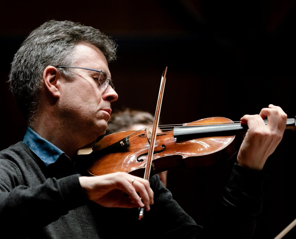 Geir Inge Lotsberg, kunstnerisk leder for Trondheimsolistene. Foto Ole Wuttudal.