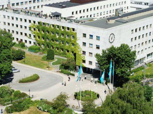 Kringkastingshuset på Marienlyst i Oslo