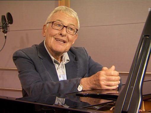 Komponist og musikkformidler Eyvind Solås. Skjermdump fra NRK-program 2008