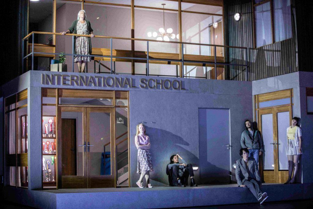 """Den internasjonale skolen i """"Innocence"""". Foto: Jean-Louis Fernandez"""